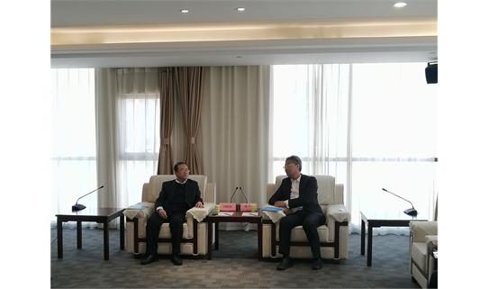 陈子峰一行赴华新燃气集团有限公司开展调研交流